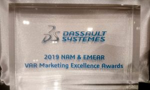 SOLIDWORKS VAR Marketing Excellence Award 2019