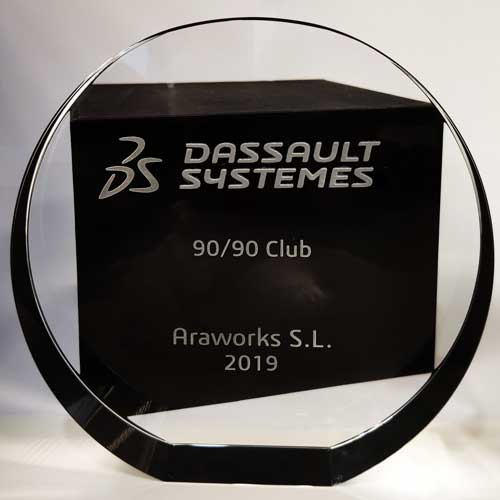 Premio SOLIDWORKS 90/90 Club 2019