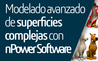 Modelado avanzado de superficies complejas con nPower Software